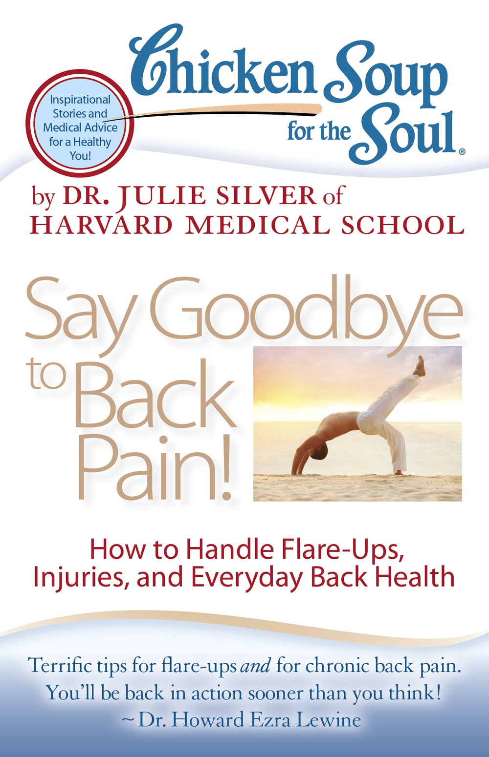 Chicken Soup For the Soul - Say Goodbye to Back Pain Book Cover