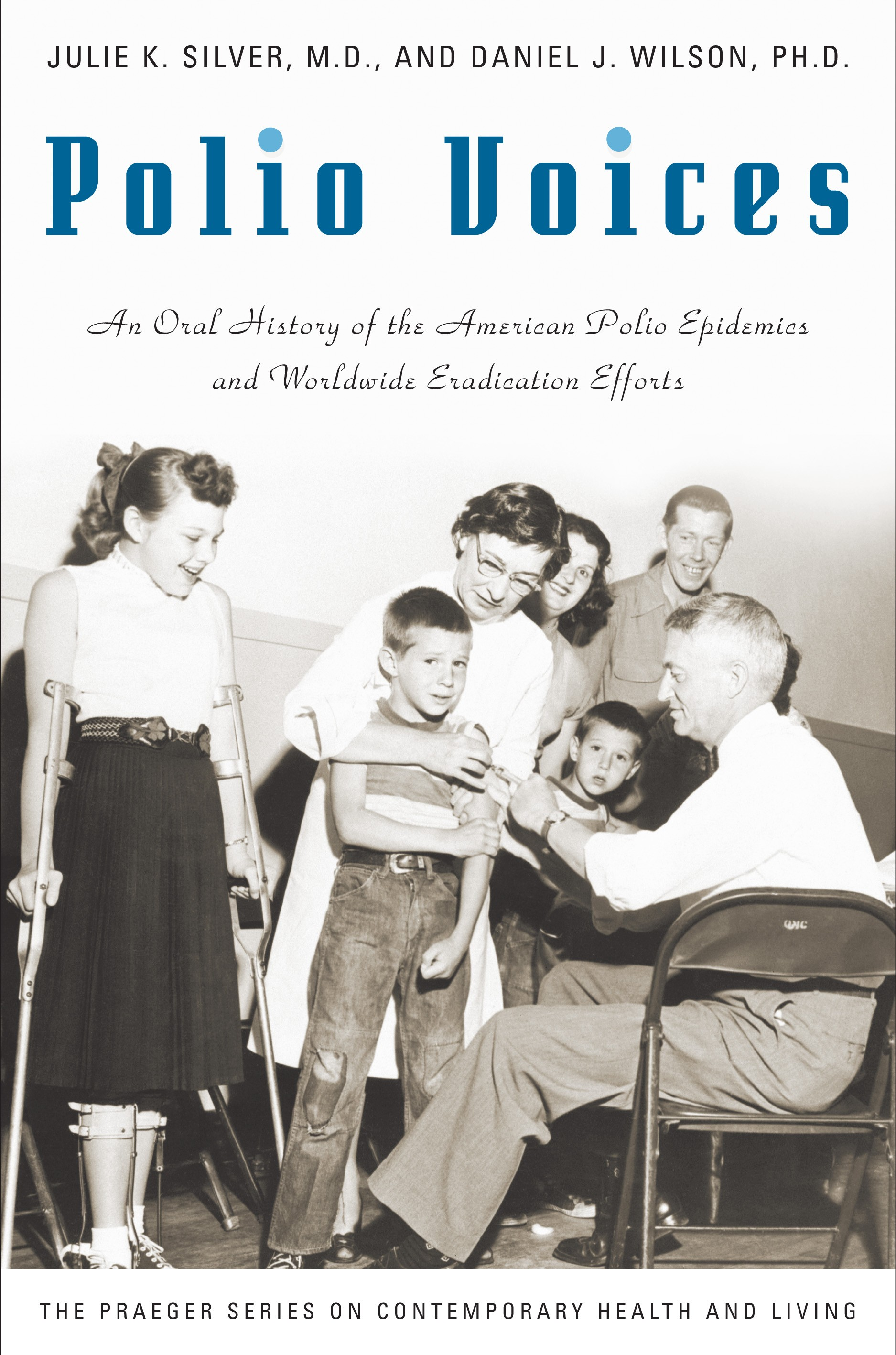 Polio Voices Book Cover